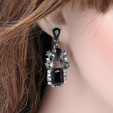 Classic Black Resin Sweet Earrings - Abco... Store