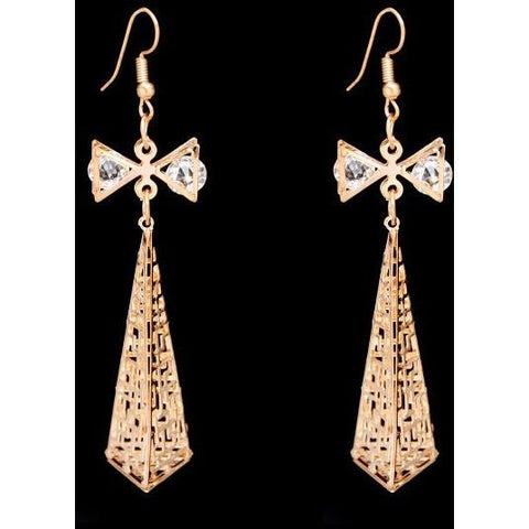 Bow Tie Drop Earring - Abco... Store
