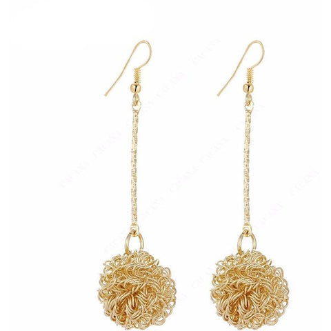 Ball Drop Earrings - Abco... Store