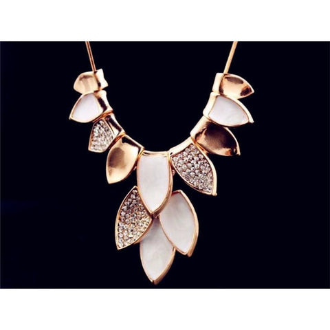 Classic Beauty Leaf Necklaces - Abco... Store