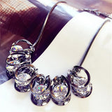 Charms Collar Crystal Pendants Necklaces - Abco... Store