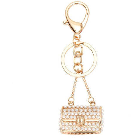 Ladies Bag charms keychains - Abco... Store