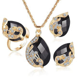 Radiant Peacock Jewellery Sets - Abco... Store