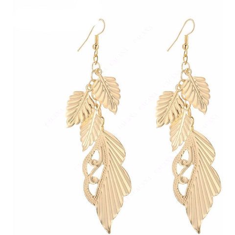 Lovely Leaves Earrings - Abco... Store