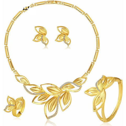 Petal Design  Bridal Jewelry Sets - Daily Deal - Abco... Store