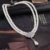 Water Drop Faux Pearl Jewellery - Abco... Store