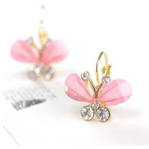 Shiny Bowknot Wings Fashion Earrings - Abco... Store