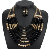 Ethnic Wear Beaded Necklace Sets - Abco... Store