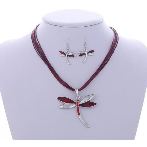 Rope Chian Dragonfly Pendants & Necklaces - Abco... Store