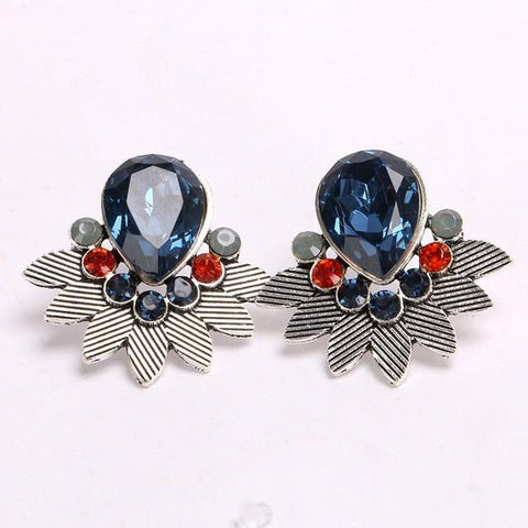 Fashion Candy Rhinestone Earrings - Abco... Store