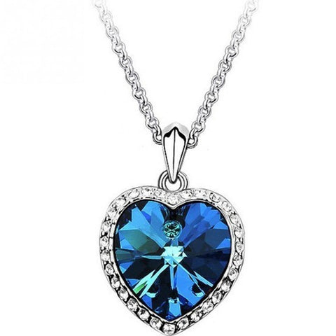 Titanic Heart Of Ocean Pendant Necklace - Abco... Store