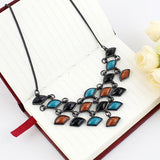 Colorful Choker Party Necklace - Abco... Store