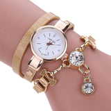 Rhinestone Analog Quartz Dress Wrist Watches - Abco... Store