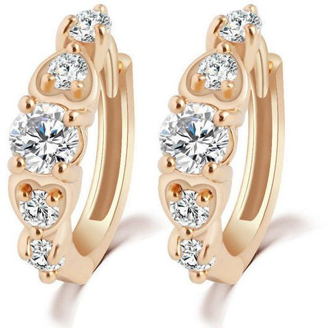 Diamonds Hoop Earrings - Abco... Store