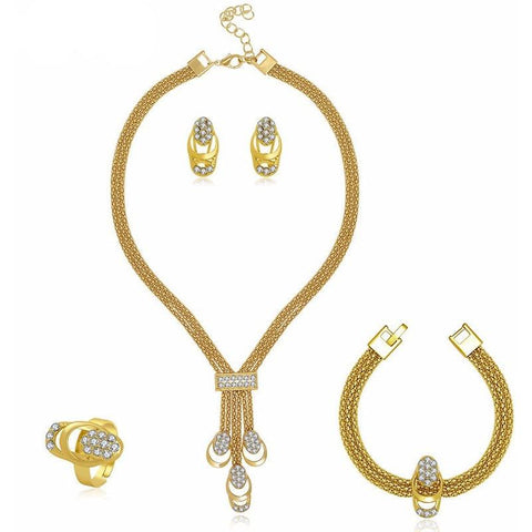 Collar Shine Jewellery Set - Abco... Store