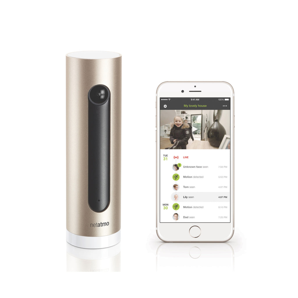 Netatmo Welcome Camera with Face Recognition
