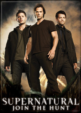 Supernatural Photo Magnet - Sam Dean Castiel