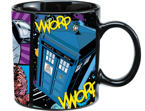 DOCTOR WHO: 20 OZ. COMIC MUG
