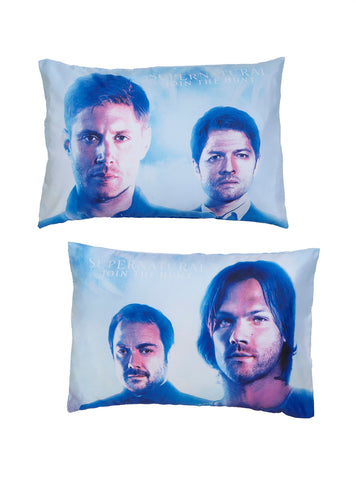 Supernatural Characters Pillowcase Set