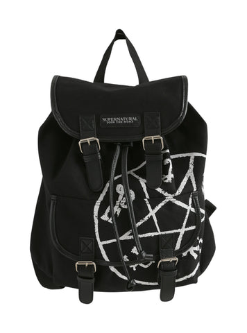 Supernatural Runes Medium Slouch Backpack