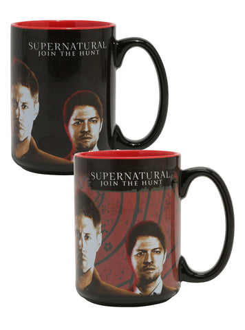 Supernatural Heat Reactive Mug