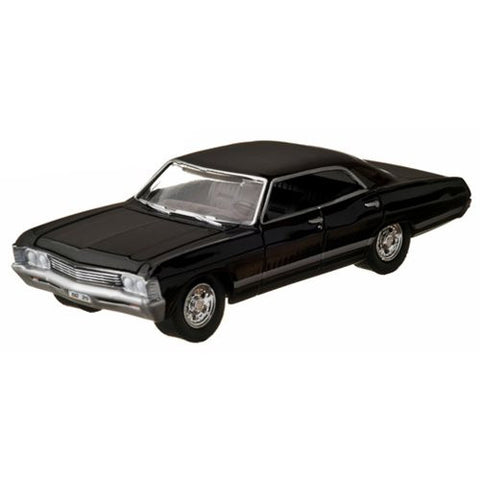 Supernatural 1967 Chevrolet Impala Sport Sedan 1:64 Scale Die-Cast Metal Vehicle