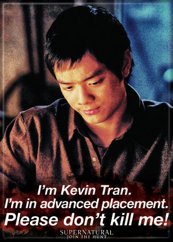 Supernatural Photo Magnet - Kevin Tran