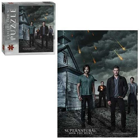 Supernatural 550-Piece Puzzle