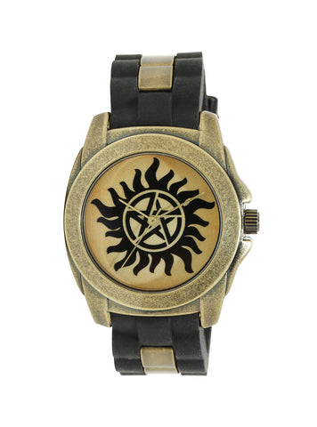 Supernatural Anti-Possession Gold & Black Watch