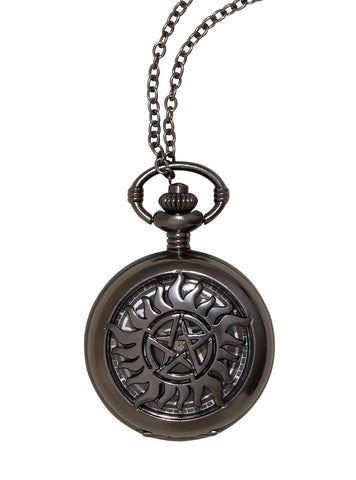 Supernatural Anti-Possession Pocket Watch Necklace
