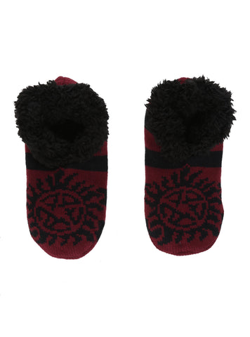 Supernatural Anti-Possession Cozy Slippers