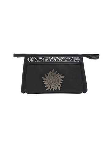 Supernatural Metal Anti-Possession Cosmetic Bag