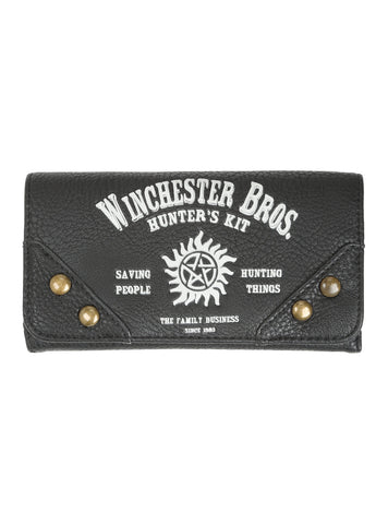 Supernatural Winchester Brothers Hunter's Kit Flap Wallet