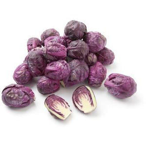 BRUSSELS SPROUTS 'Ruby' - Boondie Seeds
