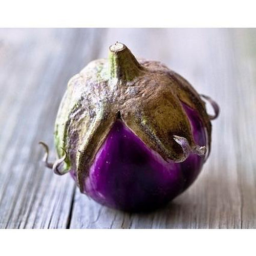 EGGPLANT 'Thai Purple Ball' - Boondie Seeds