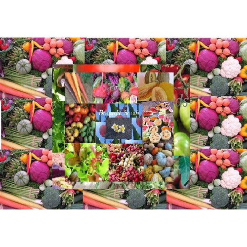 HEIRLOOM VEGETABLE SEEDS 50 packets GARDEN PACK mixed seeds GARDEN STARTER - Boondie Seeds