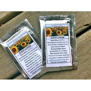 SUNFLOWER SEEDS Wholesale Gift Pack - Boondie Seeds