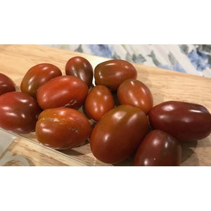 TOMATO 'Chocolate Cherry Roma' - Boondie Seeds