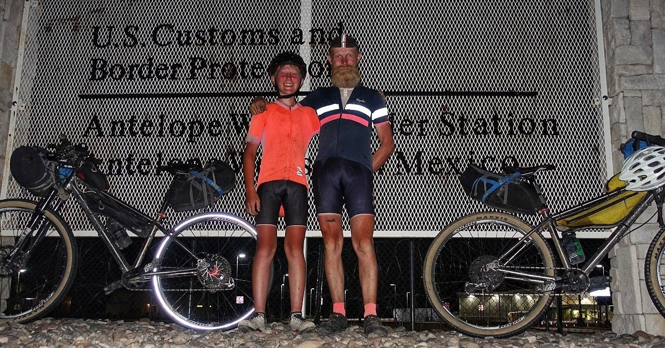 Rich and Tom on their Tour Divide