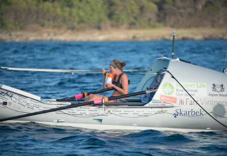 Kiko Matthews on her Atlantic Row