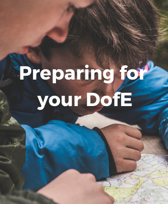 Preparing for DofE tips