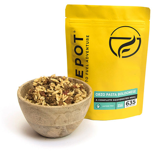Firepot long-life emergency food