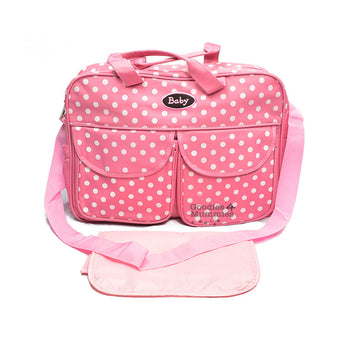 Pink Polka Dot Changing Bag - Goodies 4 Mummies Pre Packed Maternity Bags