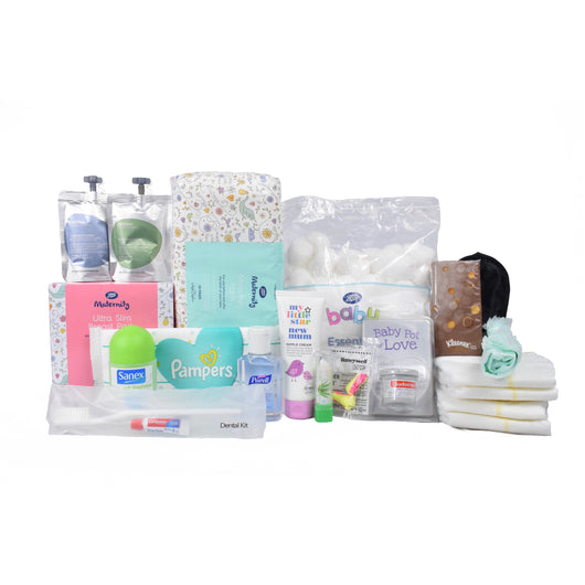 .Basic Maternity Pack (No Bag) - Goodies 4 Mummies Pre Packed Maternity Bags
