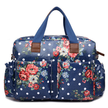 Floral Navy Blue - Goodies 4 Mummies Pre Packed Maternity Bags
