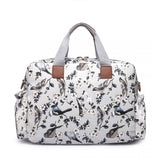 Bird Changing Bag Set Grey
