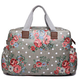 Floral Grey Changing Bag Set - Goodies 4 Mummies Pre Packed Maternity Bags