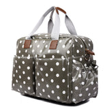 Polka Dot Changing Bag Set Grey - Goodies 4 Mummies Pre Packed Maternity Bags