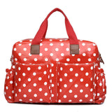 Polka Dot Red Changing Bag Set - Goodies 4 Mummies Pre Packed Maternity Bags
