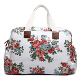 Floral Changing Bag Set White - Goodies 4 Mummies Pre Packed Maternity Bags